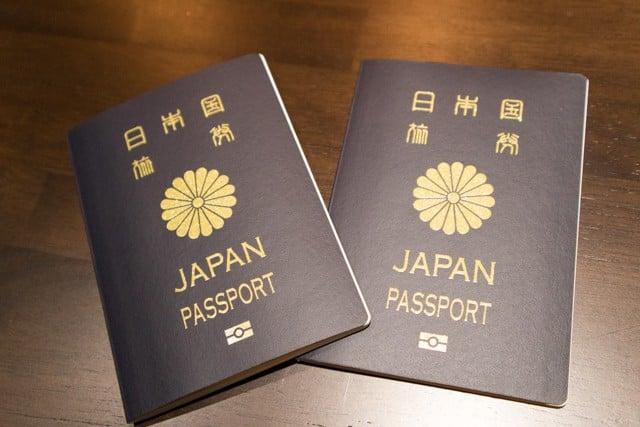 子どものパスポート申請