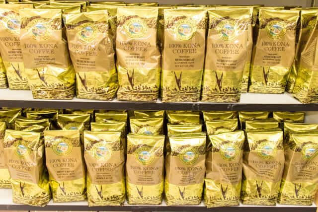 ハワイのスーパーFOOD PNTRYコナコーヒー