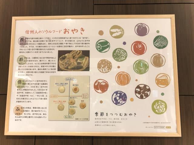 長野駅おみやげ街道ORAHO おやき