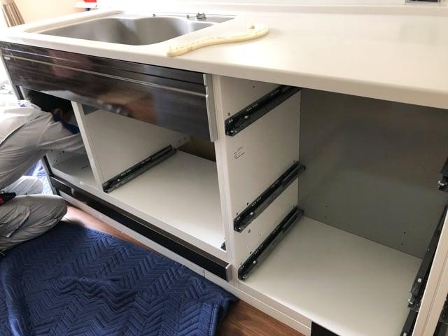 食洗機ビルトイン設置工事4