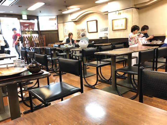 新宿ハルク 時屋 店内