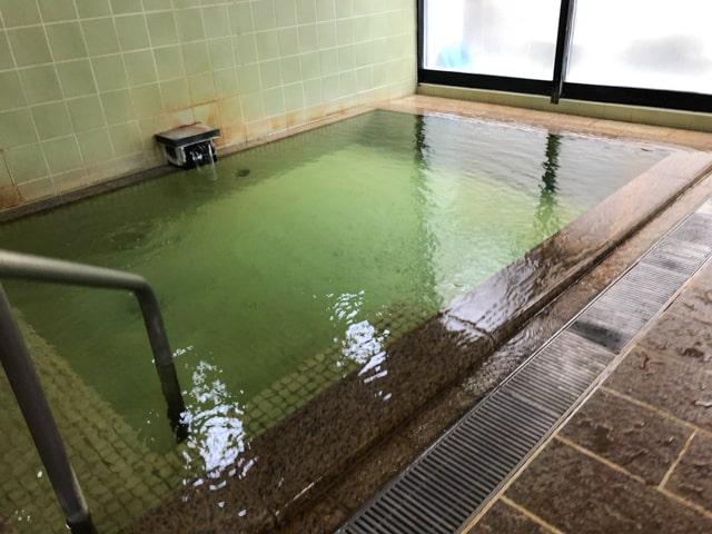 別所温泉の大湯浴室