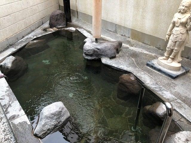 別所温泉の大湯露天風呂