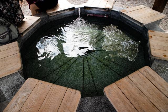 別所温泉の足湯