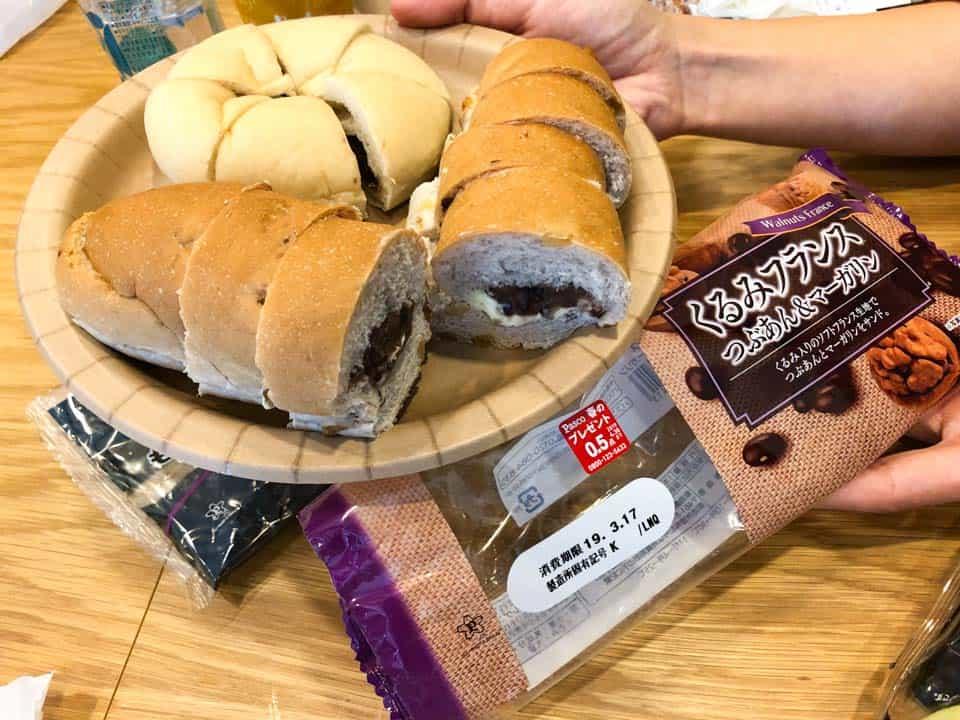パスコ菓子パンの試食3