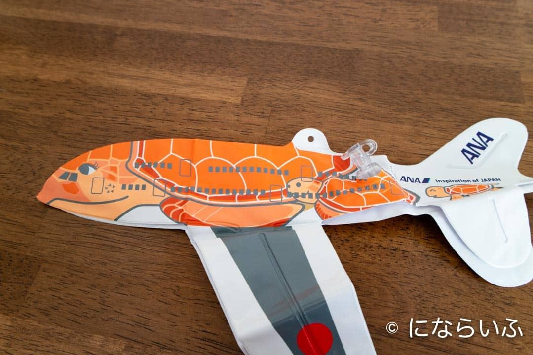 ANAA380型機おもちゃの風船中身