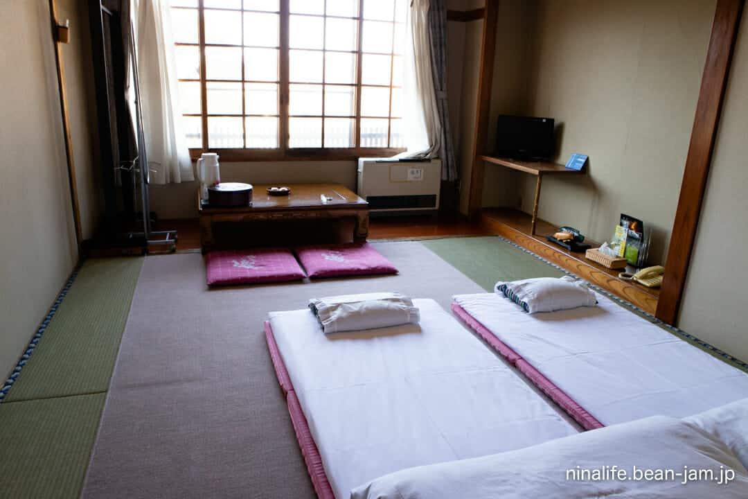 野沢温泉・池元の客室