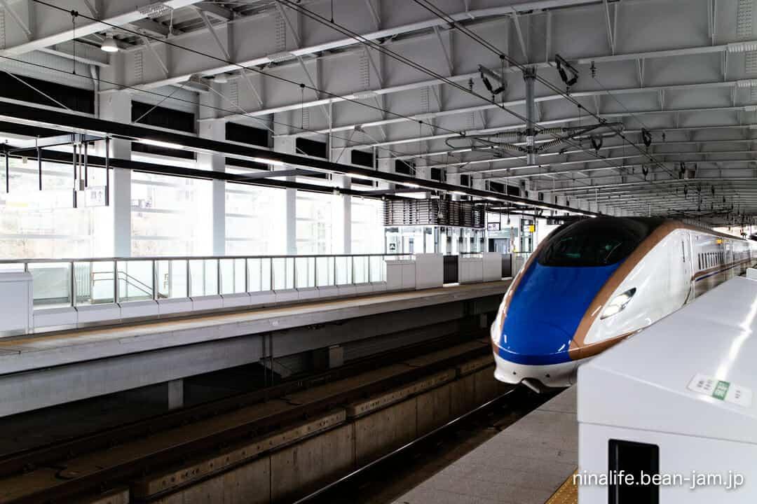 飯山駅の北陸新幹線