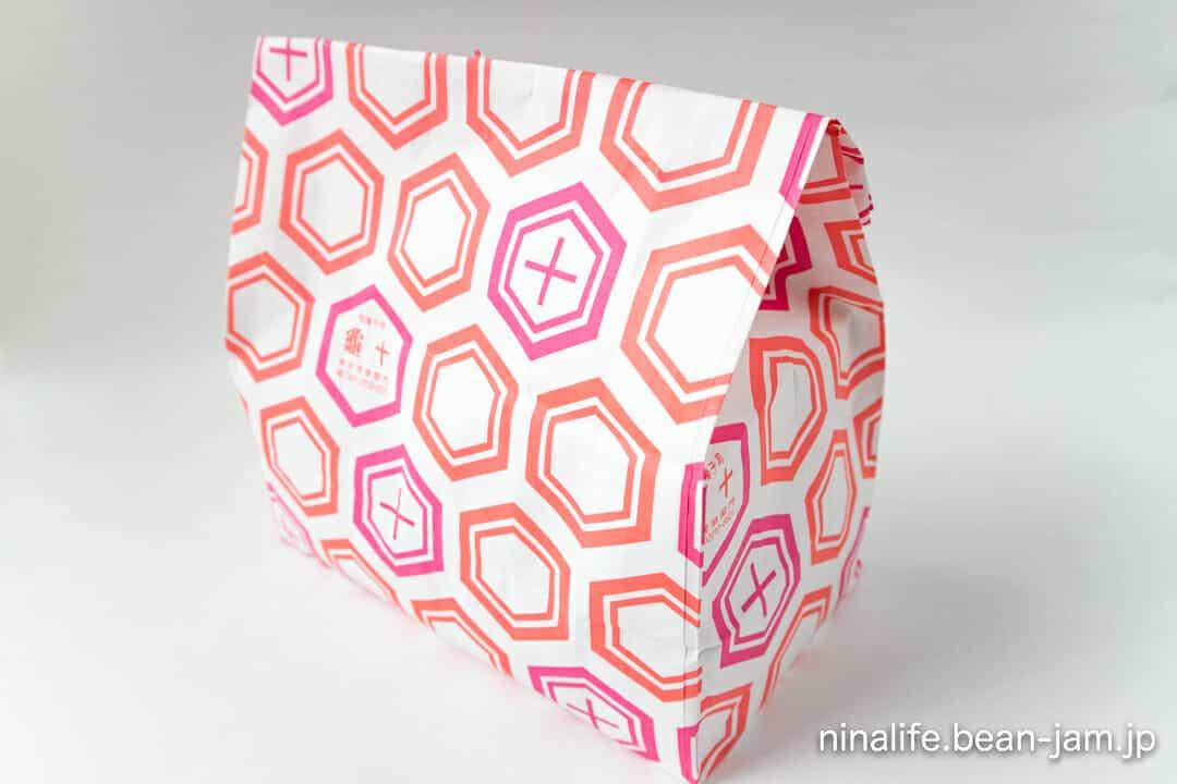 浅草・亀十の紙袋