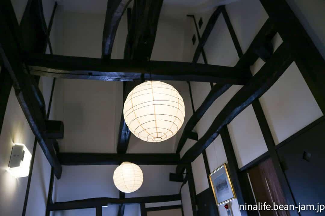 野沢温泉民宿・いけしょうの天井