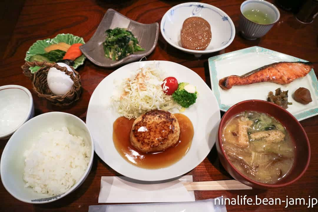 野沢温泉民宿・いけしょうの朝食